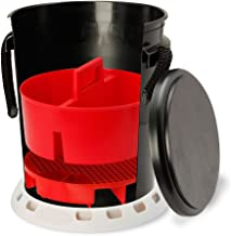 Shurhold 2464 5 Gallon Black Deluxe Bucket Kit, 32. Fluid_Ounces