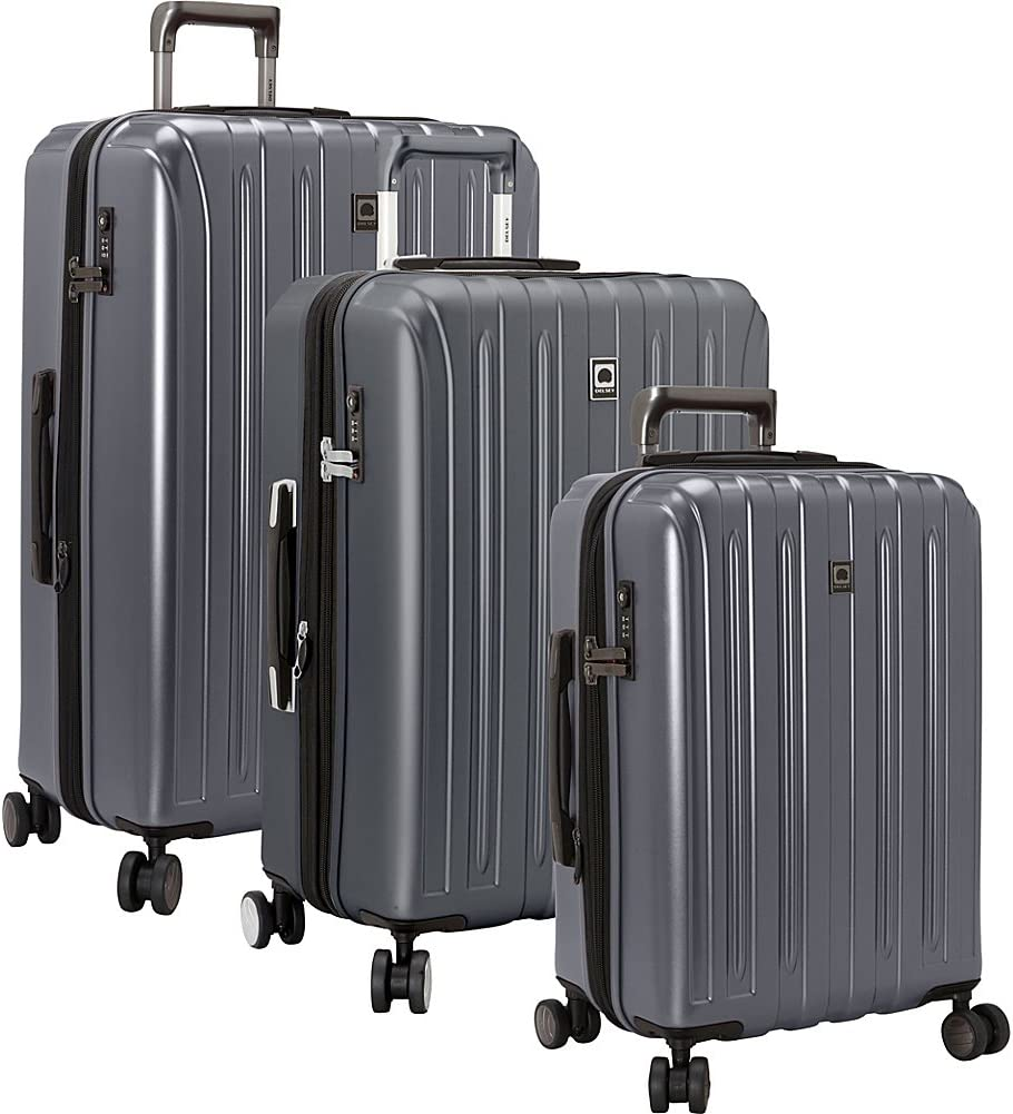 DELSEY quality assurance Popular overseas Paris Titanium Hardside Expandable Luggage W with Spinner