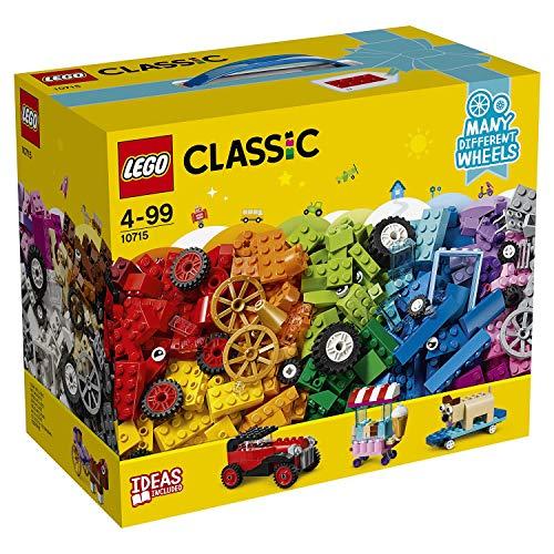 LEGO Classic 10715 Kreativ-Bauset Fahrzeuge, Spielzeug