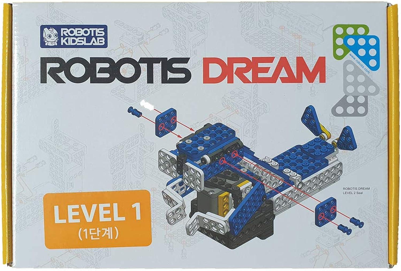 Robotis Dream Level 3 Roboter Baukasten für Kinder ab 8 Jahren zum Spielen und Lernen Advanced-Bausatz für Buben und Mdchen Robotik Spielzeug zum Zusammenbauen und Experimentieren