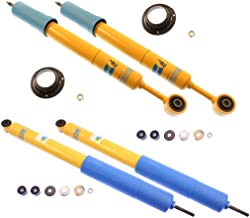 NEW BILSTEIN FRONT & REAR SHOCKS FOR 05-13 TOYOTA TACOMA PRERUNNER & 4WD BASE, 4600 SERIES 46MM SHOCK ABSORBERS, 2005 2006 2007 2008 2009 2010 2011 2012 2013