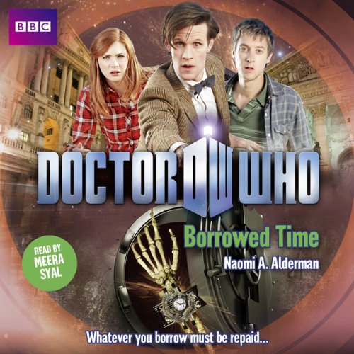 Doctor Who: Borrowed Time audiobook cover art