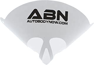 ABN Strainer Cone Funnel with Filter Top 40-Pack – Disposable 190 Micron Fine Nylon Mesh –Paint, Automotive, More