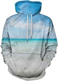 Ocean Fashion Sudadera con capucha Anse Lazio Beach Surf