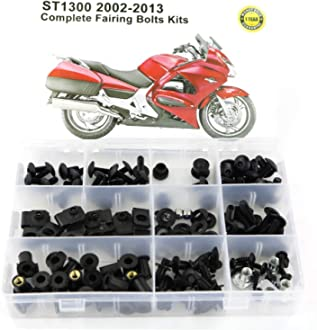 Xitomer Full Sets Fairing Bolts Kits Mounting Kits Washers//Nuts//Fastenings//Clips//Grommets black for SUZUKI GSXR 600//750 SRAD 1996 1997 1998 1999 2000