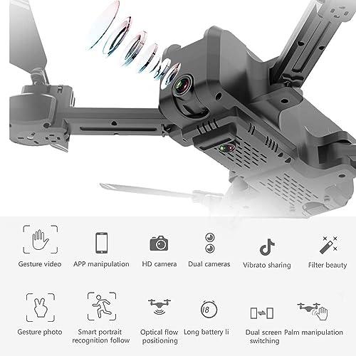 marcas de diseñadores baratos Leslaur KF607 WiFi FPV Drone con cámara 4K Flujo Flujo Flujo óptico Plegable Posición posicionamiento Mantener RC Quadcopter  punto de venta barato