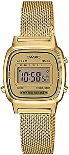 Casio Digital Watch For Unisex - LA670WEMY-9DF