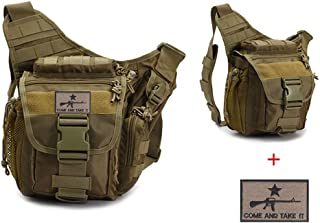 Klau Outdoor Sport Military Women and Men's Multi-Functional Tactical Messenger Shoulder Bag