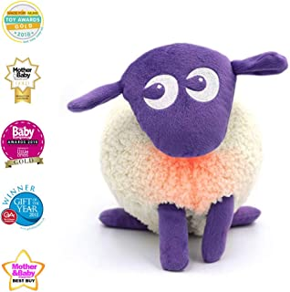 Sweet Dreamers, Ewan The Dream Sheep, Purple, Crib Sleep Soother, Baby White Noise Sound Machine with Night Light – Perfect Baby Shower Registry Gift for Kids Nursery