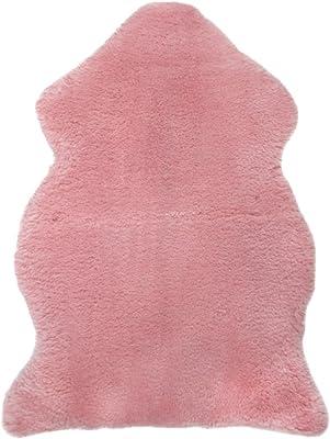 LAMBLAND Genuine Soft Wool/Shorn British Medical Sheepskin in Pink