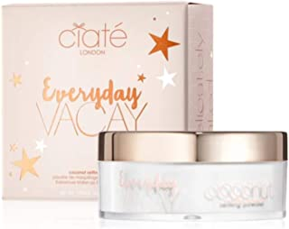 Ciaté London Everyday Vacay Coconut Setting Powder! Coconut Scented Translucent Loose Powder! Lightweight, Smooth and Crea...