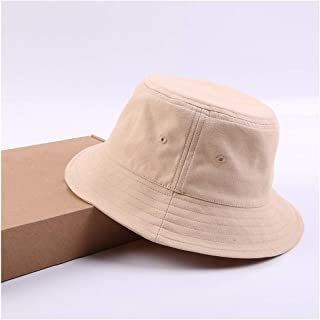 QIANZICAIDIAN Big Head Circumference Fisherman Hat 63cm Men And Women Japanese Extra Large Size Extra Large Bowl Hat Sunshade Sunscreen Wide Hat Practical (Color : Brown)