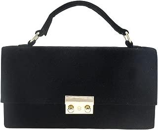 Wiwsi Women Top Handle Satchel Handbag Evening Bridal Clutch Purse Shoulder Bag Tote