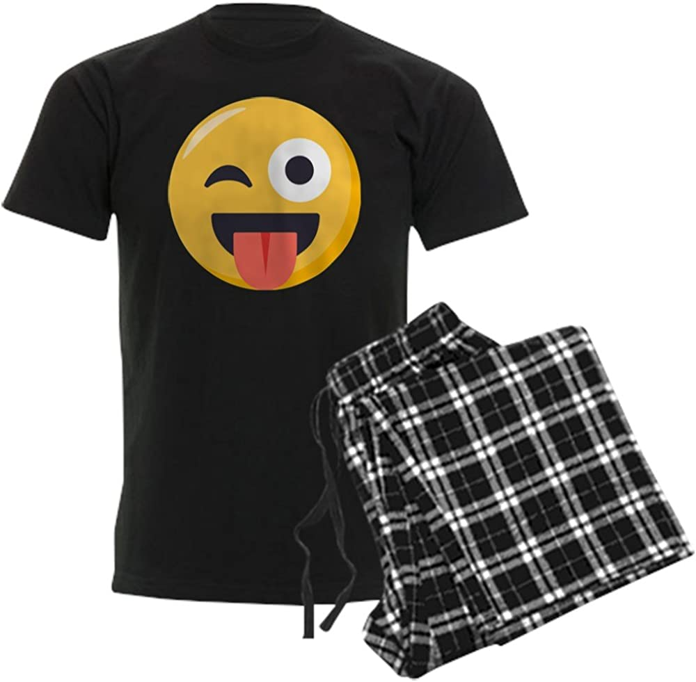 CafePress Winky Tongue Don't miss the campaign Pajama Emoji Set favorite
