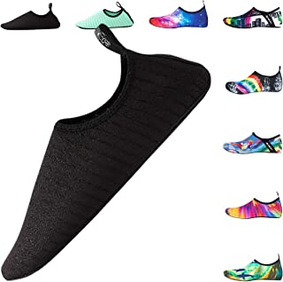 DoGeek Water Shoes Men Women Beach Shoes Quick-Dry Aqua Socks Slip-on Barefoot Shoes for Beach Sport Swim Surf Yoga Exercise