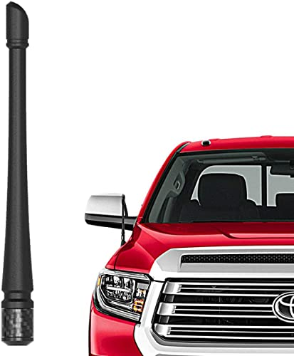 Rydonair Antenna Compatible with Toyota Tundra 2000-2021 | 7 inches Flexible Rubber Antenna Replacement | Designed fo...