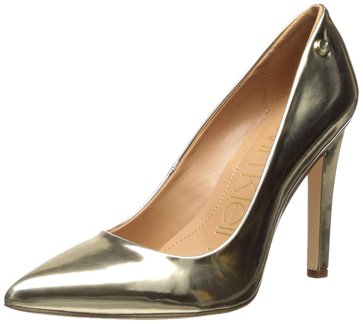発掘するフェローシップ寓話[Calvin Klein] レディース US サイズ: 9 M US カラー: ゴールド