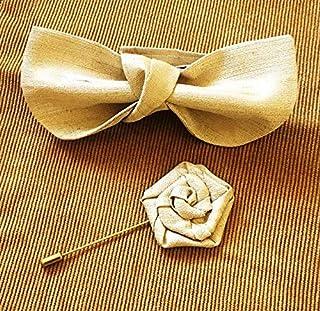 Emoltem Handmade Pre-tied Bowtie Best accessory & gift idea for men-EMF-MHT-0005