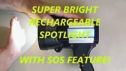 luces de trabajo port/átil de 30 W con USB pesca senderismo camping Proyector LED recargable 3 modos luces de seguridad de emergencia foco impermeable al aire libre para reparaci/ón de coche