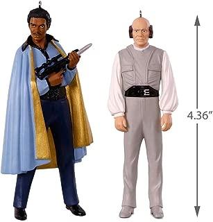 Hallmark SDCC 2018 Star Wars: The Empire Strikes Back Lando Calrissian and Lobot Ornaments, Set of 2