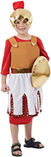 Kids Romans Costumes Boys & Girls Historical Roman Soldier & Emperor Robe Outfits