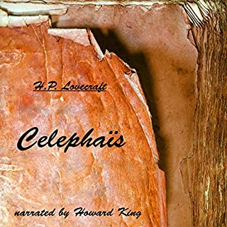 Celephaïs audiobook cover art