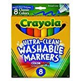Classic Colors 8/Pkg Crayola Broad Line Washable Markers 58-7808