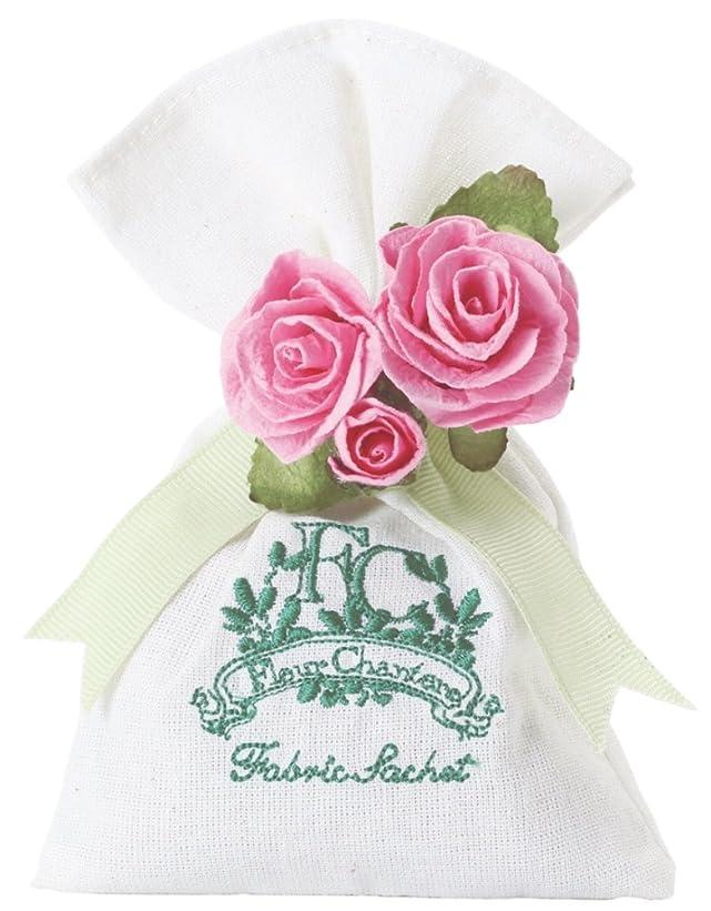 バーバンカー心のこもった芳香剤 フルールシャンテ カルム ファブリックサシェ スウィートローズ OA-RZS-3-2