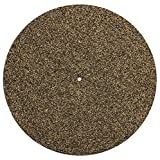 Turntable Slip Mat Rubber Cork – Anti Static 1/8 Thick Vinyl Record Player Slipmat by Record-Happy. A Basic and Defining Upgrade for The Demanding Audiophile. Improves Sound Quality and Reduces Noise