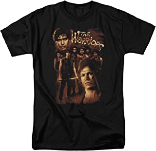 The Warriors NYC Gang Thriller Action Movie 9 Warriors Adult T-Shirt Tee