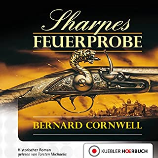 Sharpes Feuerprobe cover art