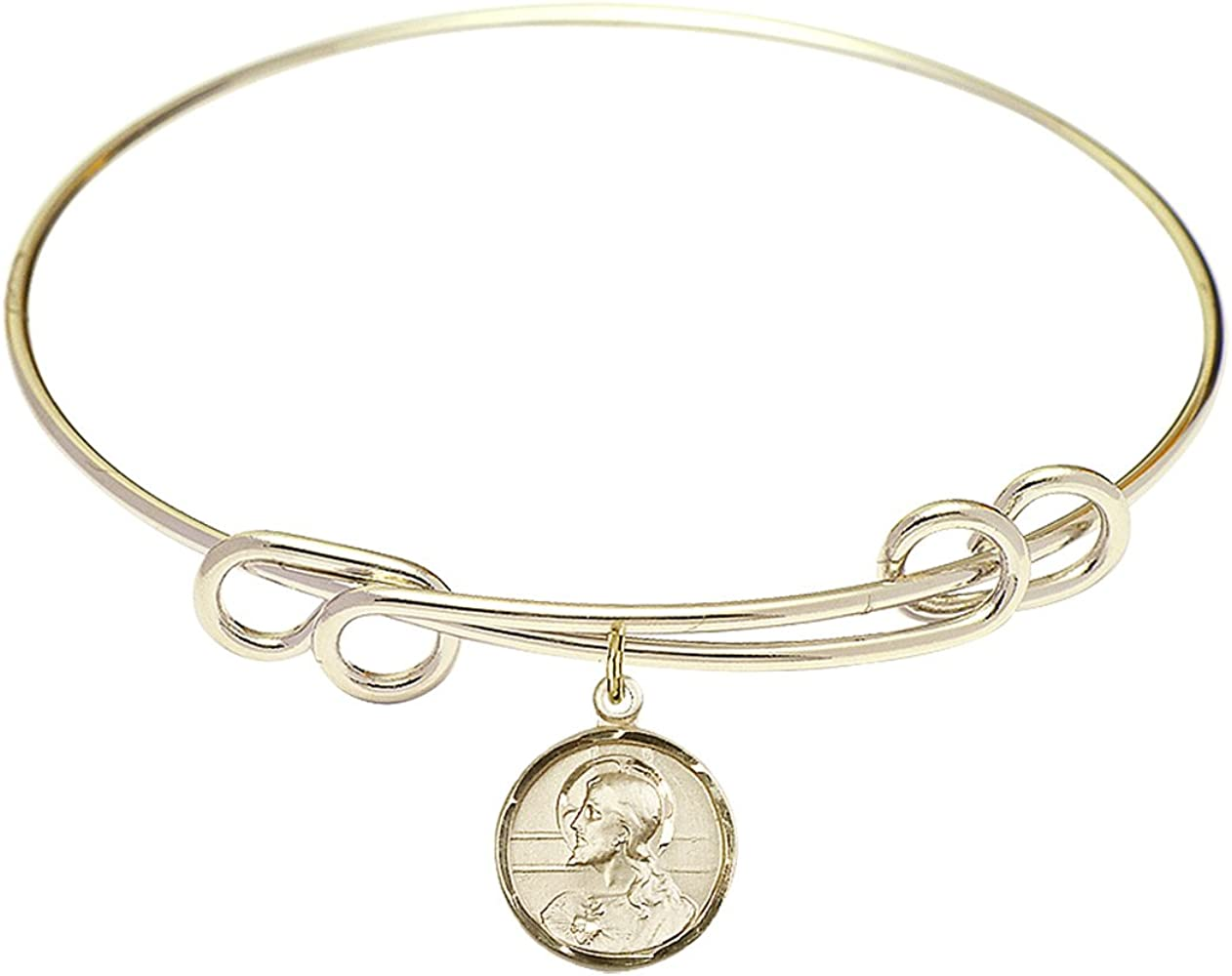 DiamondJewelryNY Double Loop Bangle Bracelet Free Shipping Cheap Bargain Gift Cha Scapular a with Cheap mail order shopping