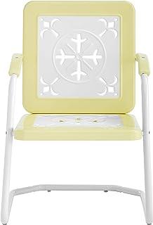 Crosley Furniture CO1026-YE Azalea Retro Metal Chairs...