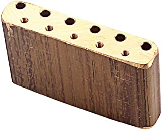 sharprepublic Exquisite Brass Tremolo Block Bridge for Electric Guitar Bridge Parts
