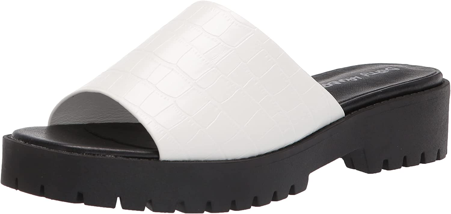 Dirty Laundry by Chinese Laundry Women's Respect Slide Sandal, White, 10