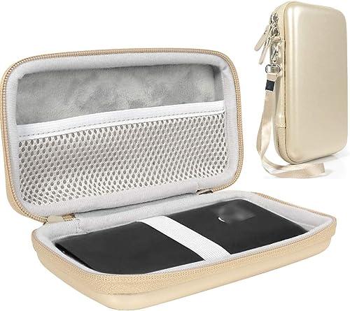 high quality WGear case discount for GlocalMe Mobile Hotspot Compatible with G4 Pro 4G LTE, G3 4G new arrival LTE, U2S 4G LTE, U3, U3 4G LTE, mesh Accessory Pocket, Detachable Wrist Strap online sale