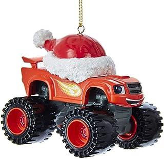 Best Kurt Adler 3.5-Inch Blaze Truck Christmas Ornament Review