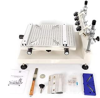 3040 Solder Paste Printer, SMT/SMD Screen PCB Stencil Printer SMT Manual Screen Printer MAX 250X400MM