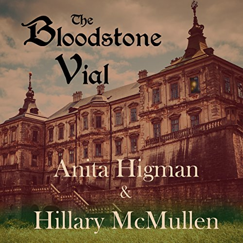 The Bloodstone Vial audiobook cover art