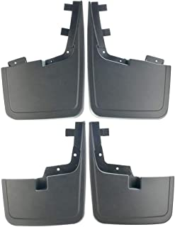 Set of 4 Front and Rear Mud Flaps Splash Guards for Ford F-150 2015-2019 without Factory Fender Flares