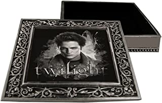 Twilight Square Metal Jewelry Box