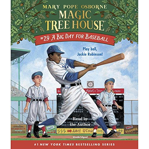 A Big Day for Baseball audiobook cover art
