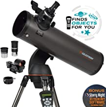 Celestron - NexStar 130SLT Computerized Telescope - Compact and Portable - Newtonian Reflector Optical Design - SkyAlign Technology - Computerized Hand Control - 130mm Aperture
