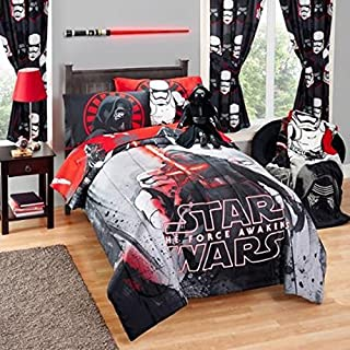 Star Wars Episode VII Rule the Galaxy Twin/Full Comforter and Full Sheet Set