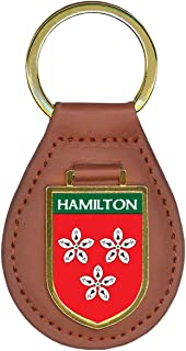 Hamilton Family Crest Coat of Arms 1 Total Key Chains