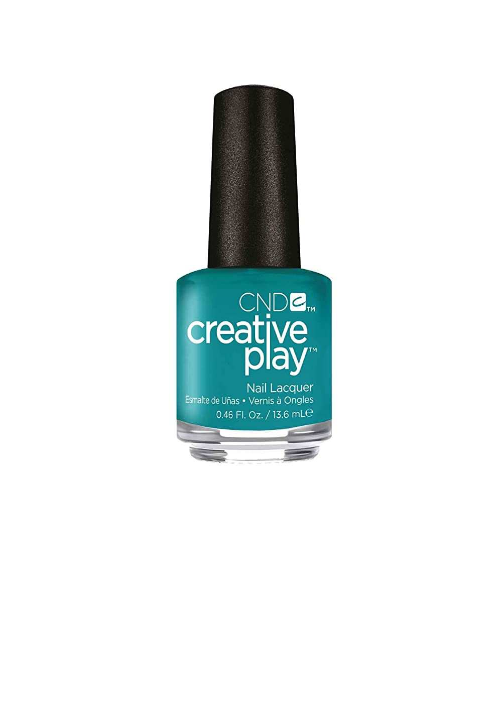 欺圧縮局CND Creative Play Lacquer - Head Over Teal - 0.46oz / 13.6ml