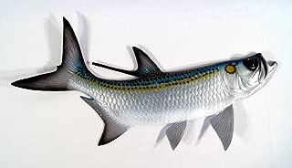 "Charlotte International Replica Tarpon Saltwater Game Ocean Fish Wall Decor 28"""