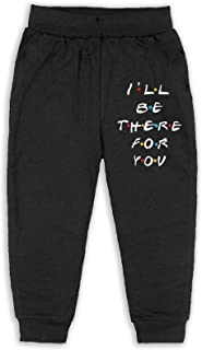 Easionerol Friends I'Ll Be There For You Girls Long Sweatpants Jogger Trousers