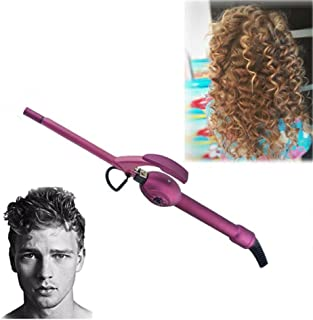 Deep Curly Curling Wand Ceramic Small Curling Iron 9mm Hair Curler Roller Mini Barrel Wave Curl for Man Women Kids Hairdressing Tools