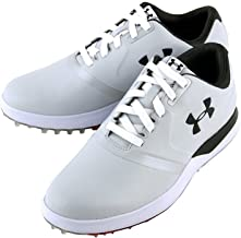 Under Armour UA Performance Spikeless Golf Shoes - White